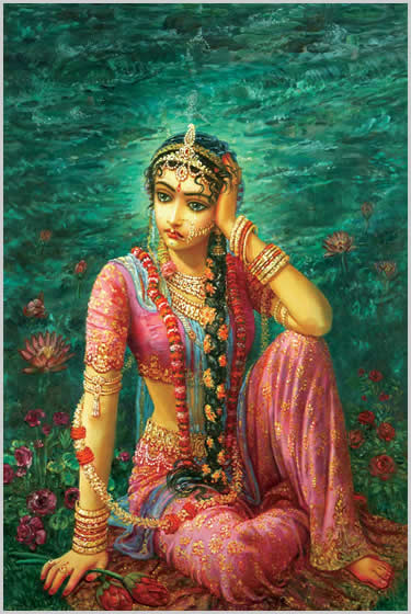 Pictures Of Radharani